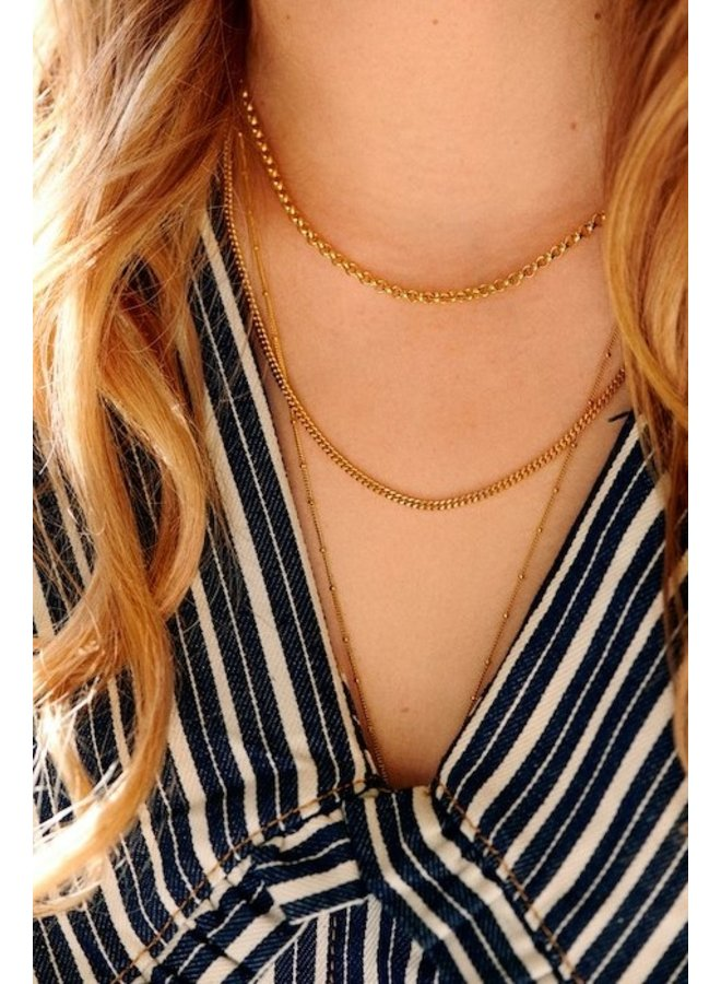 Ketting Chunky Necklace goud
