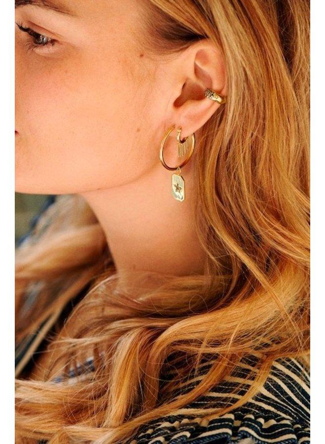 Ear cuff Starlit Sky goud