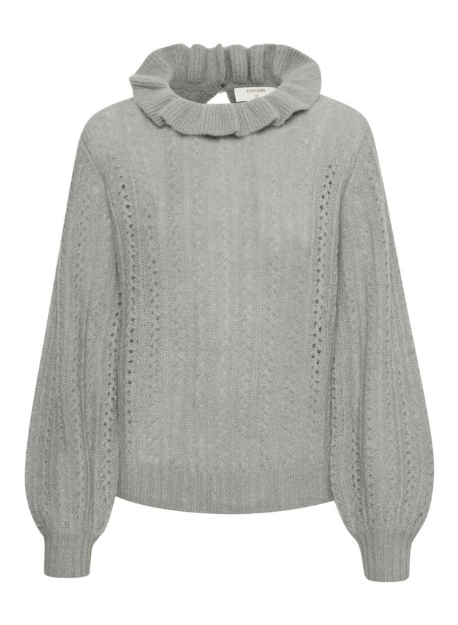 Top CRHalo knit quarry