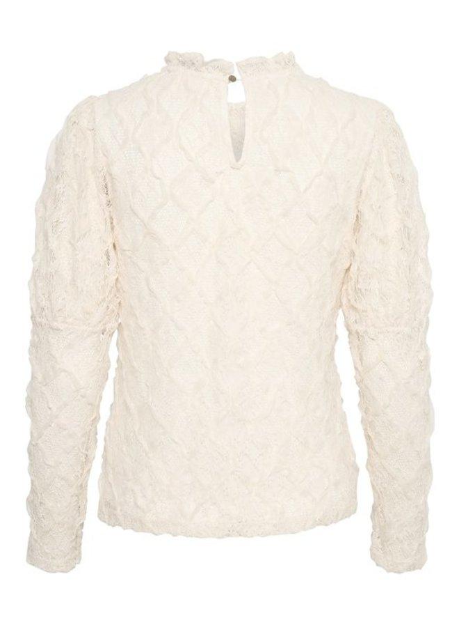 Top CRWallie blouse eggnog