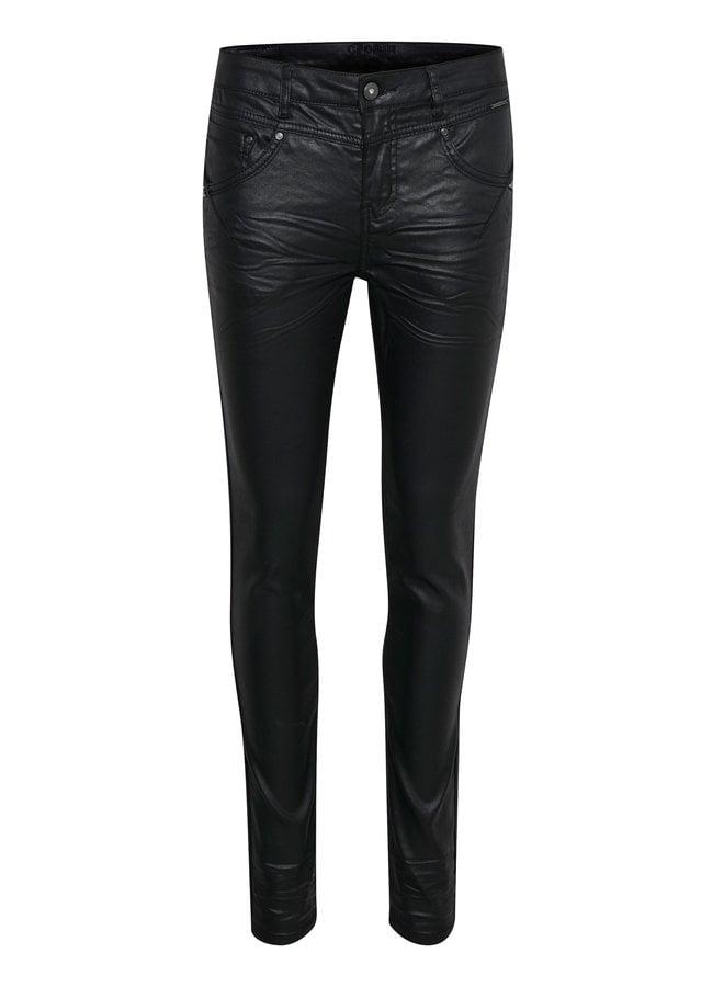 Broek Annelene pants shape fit pitch black