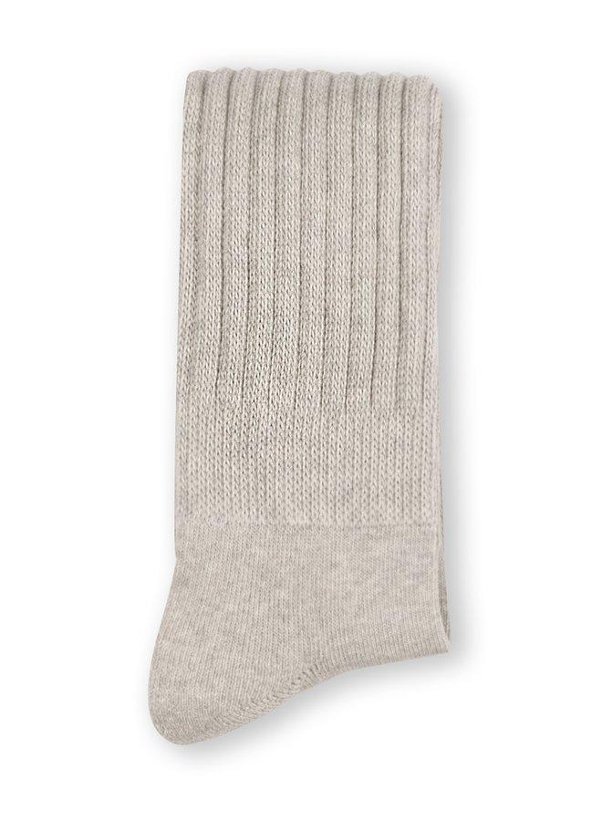 Sokken Sporty socks light grey melee
