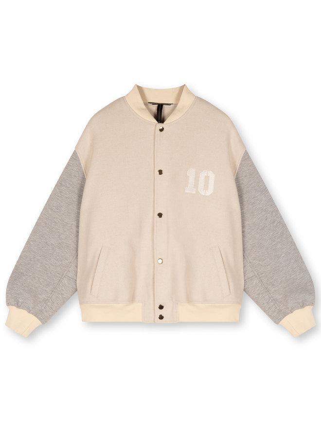 Jacket Baseball jacket new white