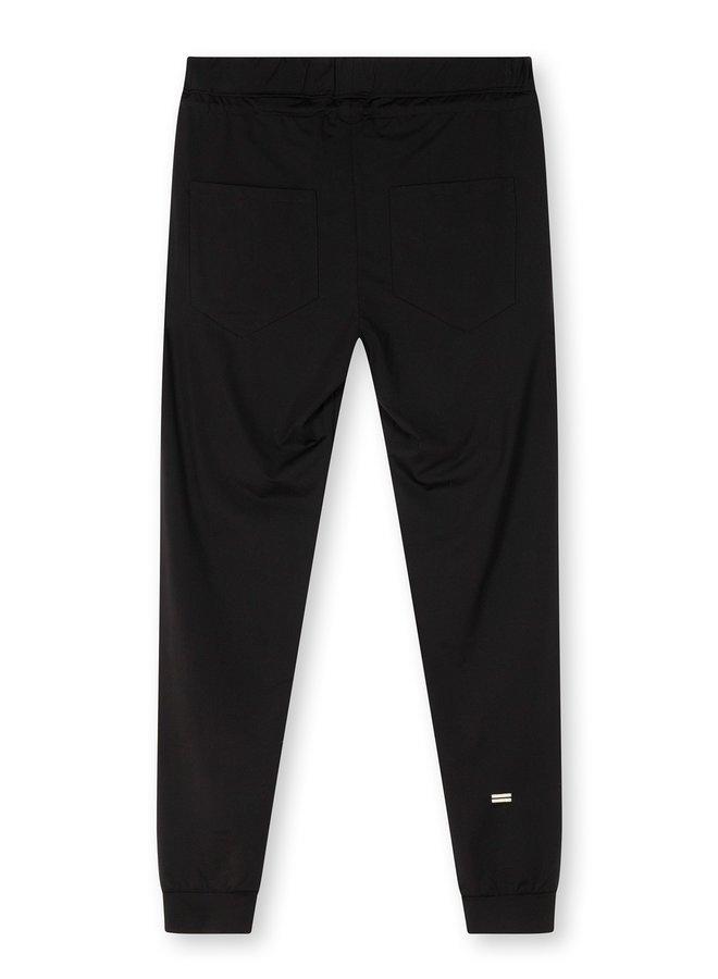 Broek Chino jogger black