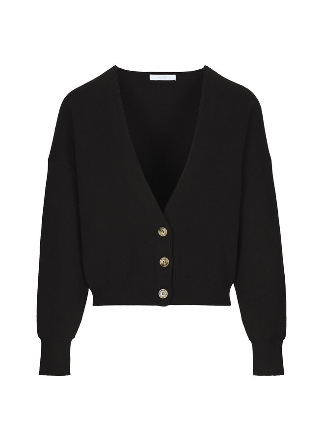 Vest Vera cardigan black
