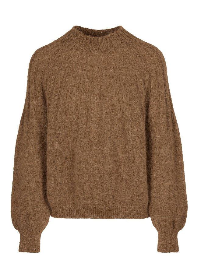 Trui Zoe pullover camel