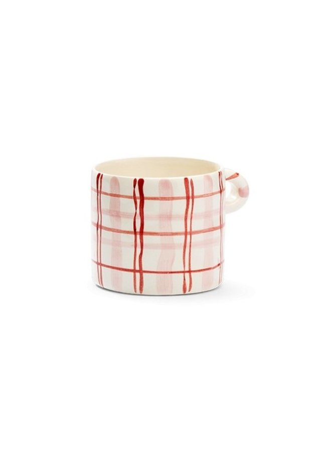 Mok Country love mug pink/red