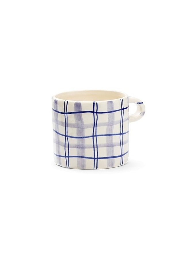 Mok Country love mug Blue/Lilac