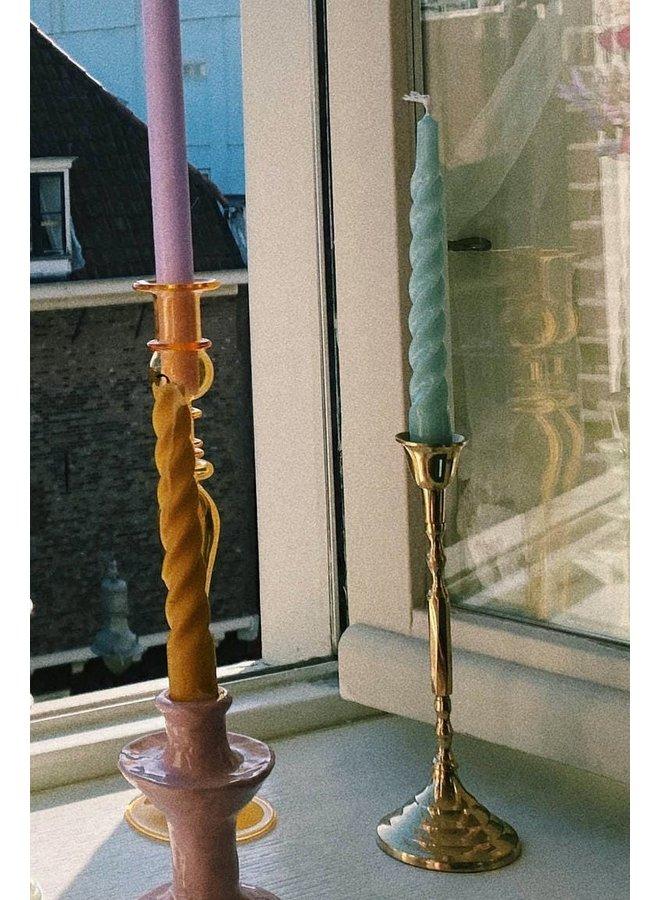 Kaarsenhouder Tall candle gold