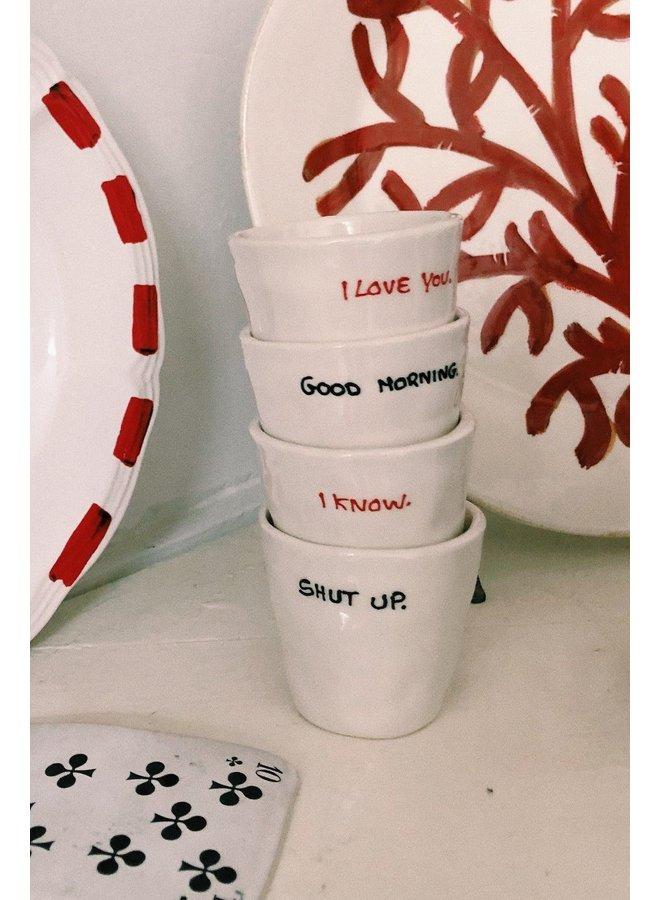 Mok Espresso cup shut up