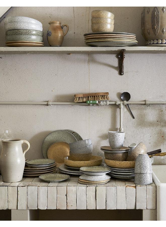 Kom gradient ceramics bowl cream (set of 4)