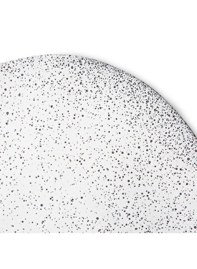 Bord gradient ceramics dinner plate cream (set of 2)