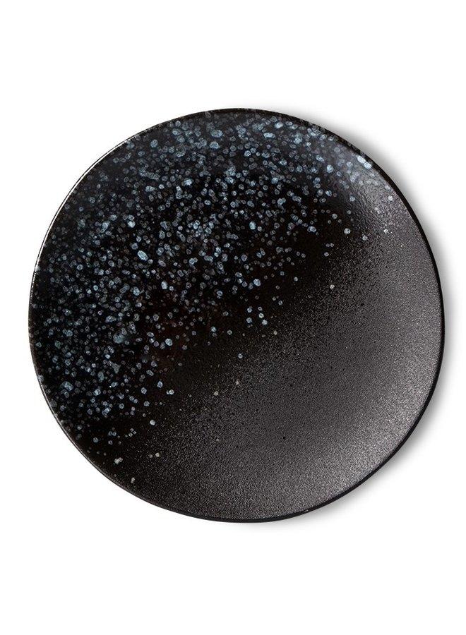 Bord ceramic dessert plate 70's stars (set of 2)
