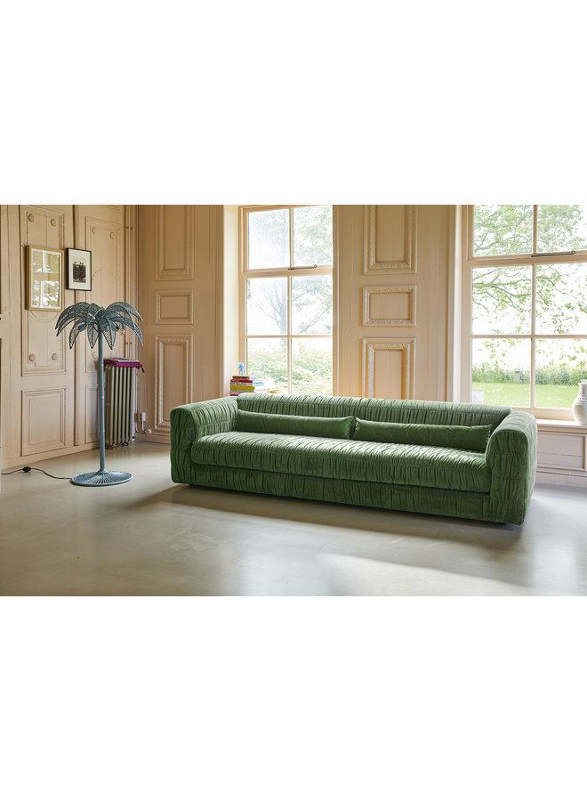 Bank club couch royal velvet, green