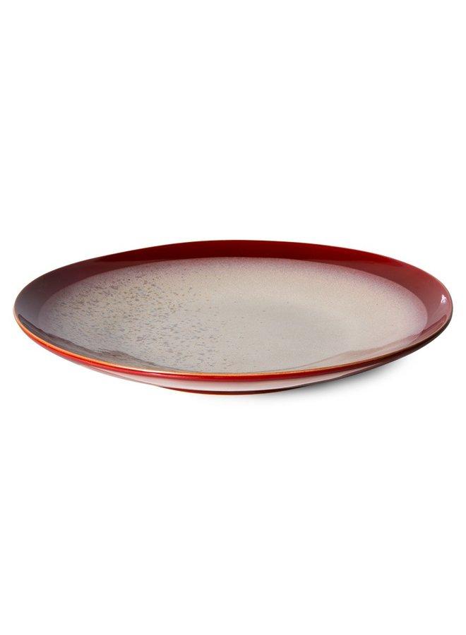Bord ceramics dinner plate 70's frost (set of 2)