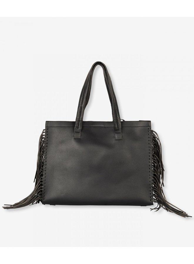 Tas Ladies faux leather LX shopper black