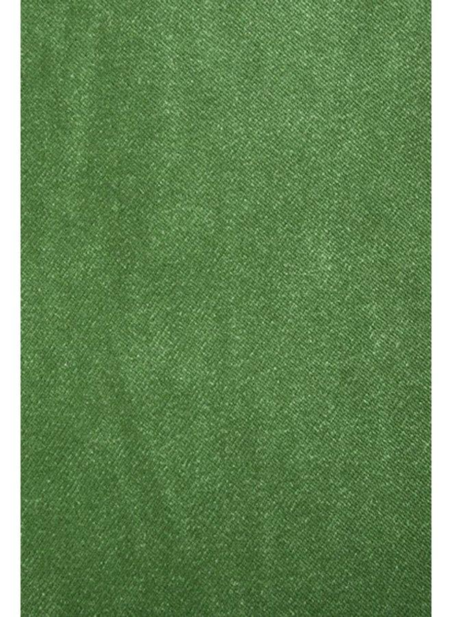 Bank vint couch element left divan, royal velvet, green