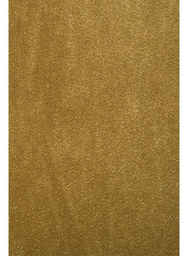 Bank jax couch: element round, velvet, mustard