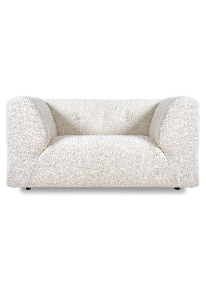 Bank vint couch element loveseat boucle, cream
