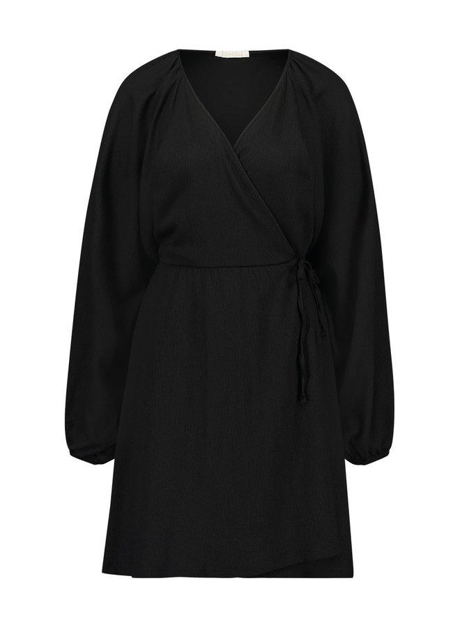 Jurk Alice midi dress black
