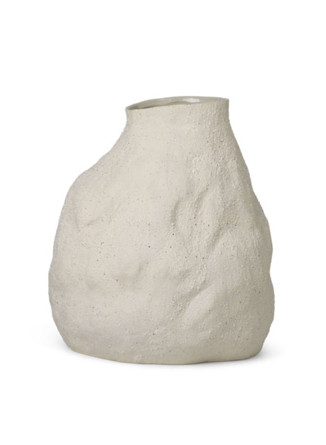 Vaas Vulca L off-white stone