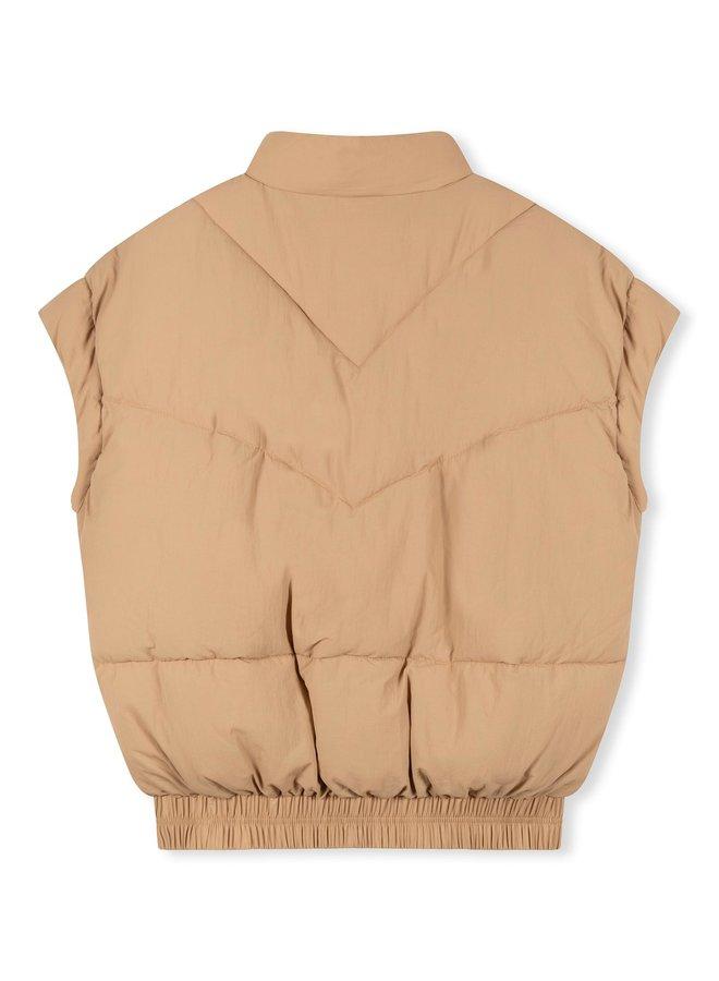 Bodywarmer recycled padded vest