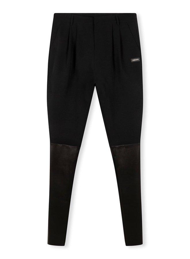 Broek combi pants black