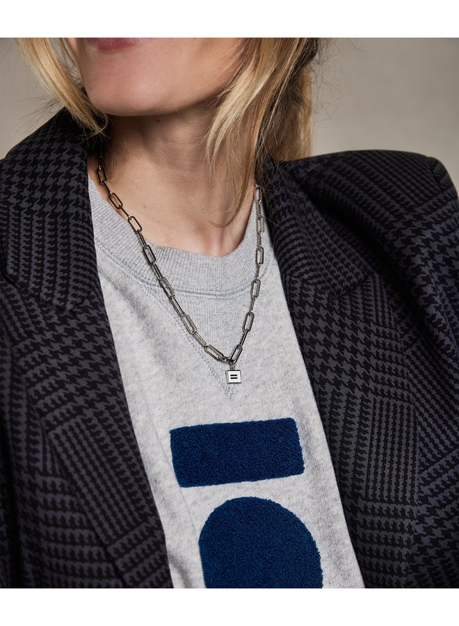 Ketting chain necklace silver