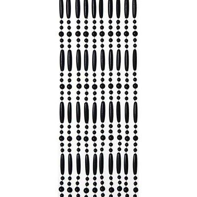 Perlenvorhang Schwarz