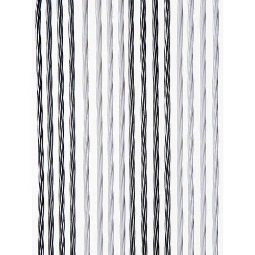 Insektenschutzdirekt.de Fliegenvorhang Kunststoff Weich - Grau Silber Duo