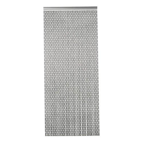 Insektenschutzdirekt.de Fliegenvorhang Kunststoff Hülsen - Grau