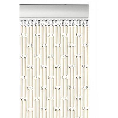 Fliegenvorhang Kunststoff Hülsen - Ecru