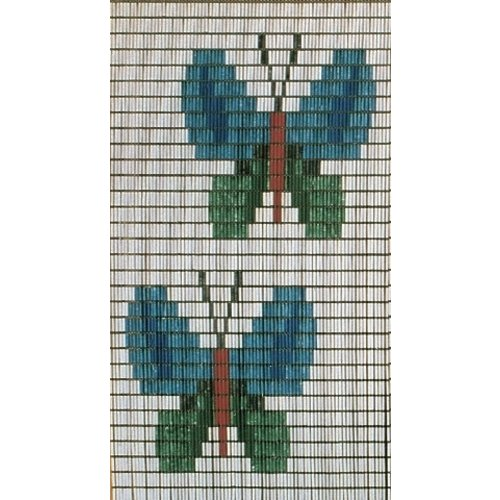 Insektenschutzdirekt.de Fliegenvorhang Schmetterlinge