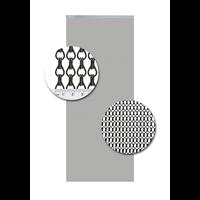 Insektenschutzdirekt.de Kettenvorhang Aluminium Schwarz