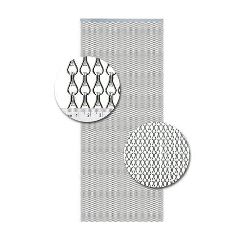 Insektenschutzdirekt.de Kettenvorhang Aluminium Silber