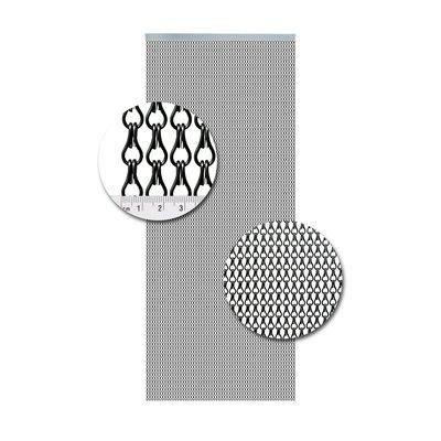Kettenvorhang Aluminium Anthrazit