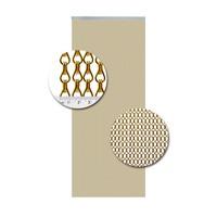 Insektenschutzdirekt.de Kettenvorhang Aluminium Gold