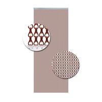 Insektenschutzdirekt.de Kettenvorhang Aluminium Rot