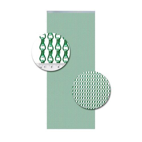 Insektenschutzdirekt.de Kettenvorhang Aluminium Hellgrün