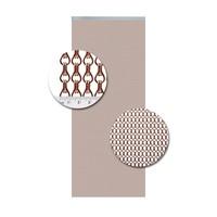 Insektenschutzdirekt.de Kettenvorhang Aluminium Kupfer