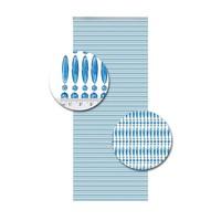 Insektenschutzdirekt.de Perlenvorhang Blau Senkrecht