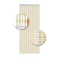 Insektenschutzdirekt.de Perlenvorhang Farbenmix Senkrecht