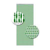 Insektenschutzdirekt.de Perlenvorhang Grün Versetzt