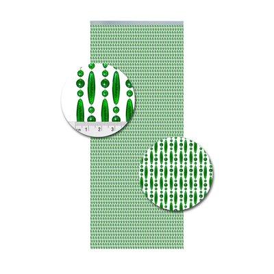 Perlenvorhang Grün Versetzt