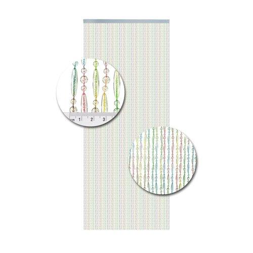 Insektenschutzdirekt.de Perlenvorhang Multicolor Versetzt