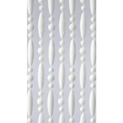 Perlenvorhang Weiß Versetzt
