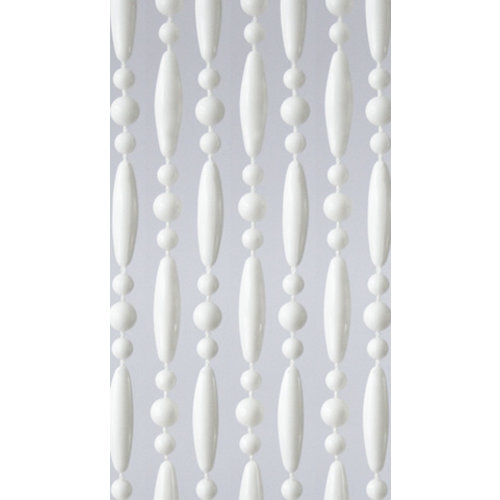 Insektenschutzdirekt.de Perlenvorhang Weiß Versetzt