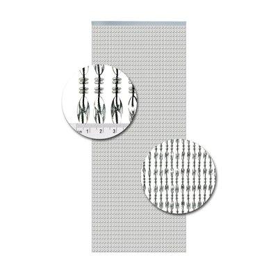 Perlenvorhang Chios Transparent Schwarz
