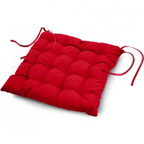 Stuhlkissen 40x40 CM Essential Rot