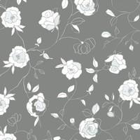Wachstuch Rosen Grün Minze